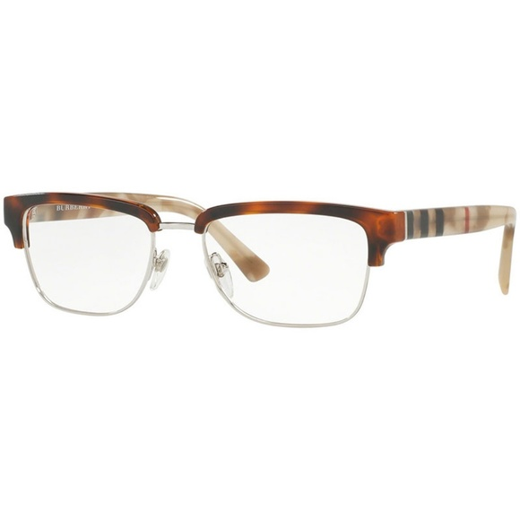da47d8dd2ef5 Burberry Eyeglasses Light Havana w Demo Lens
